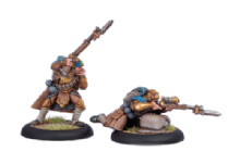 Cygnar Trencher Officer & Sharpshooter (2)